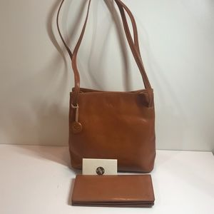 Small Monsac Leather Purse + Wallet